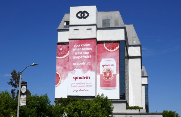 Giant Spindrift Grapefruit billboard