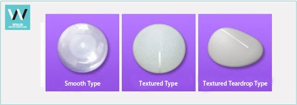 appropriate breast implant, types of breast implants, korean breast surgery, smooth type breast implants, textured type breast implants, teardrop breast implants