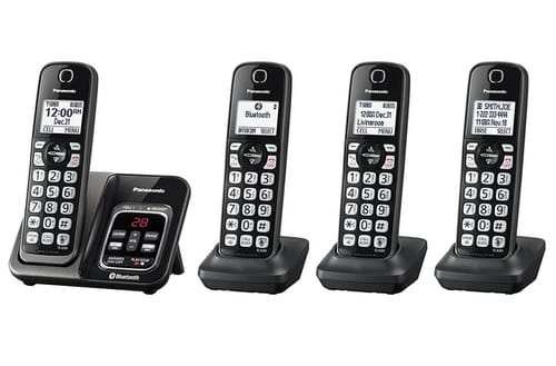 PANASONIC KX-TGD564M Expandable Cordless Phone System