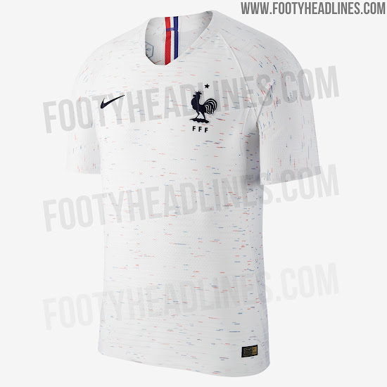 bdfafe5b689 France 2018 World Cup Away Kit Revealed - Footy Headlines