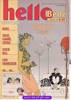 Hello Bédé, numéro 15, 1992, Madila