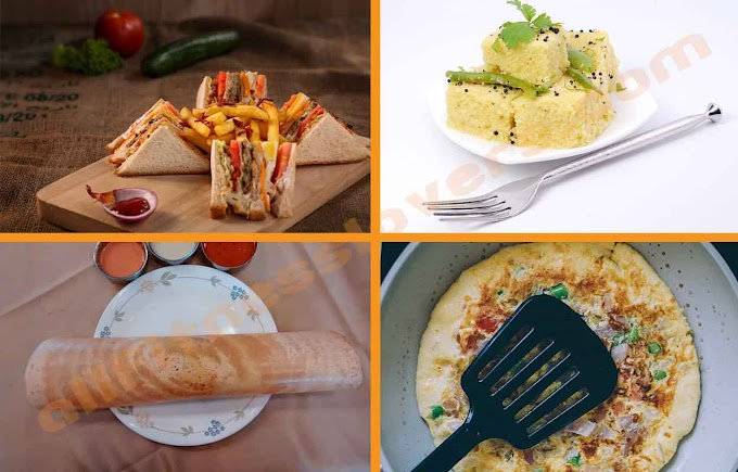 4 Quick, Healthy and Tasty Indian Recipes for Breakfast