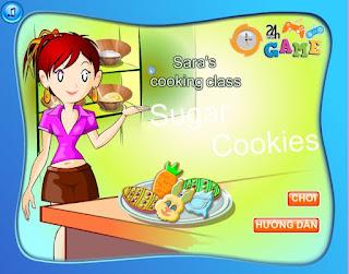 Chơi game bánh quy hình thú ngộ nghĩnh