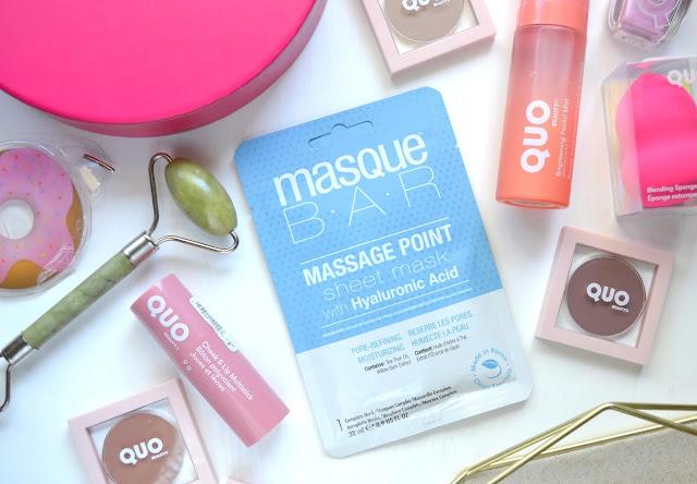 MasqueBar Massage Point Moisturizing Sheet Mask Flatlay