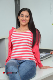 Telugu Actress Mouryani Latest Pos in Blue Denim Jeans  0169.JPG