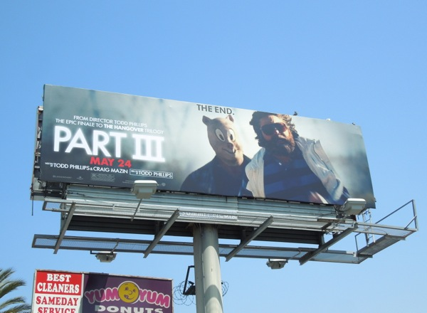 Hangover Part III billboard