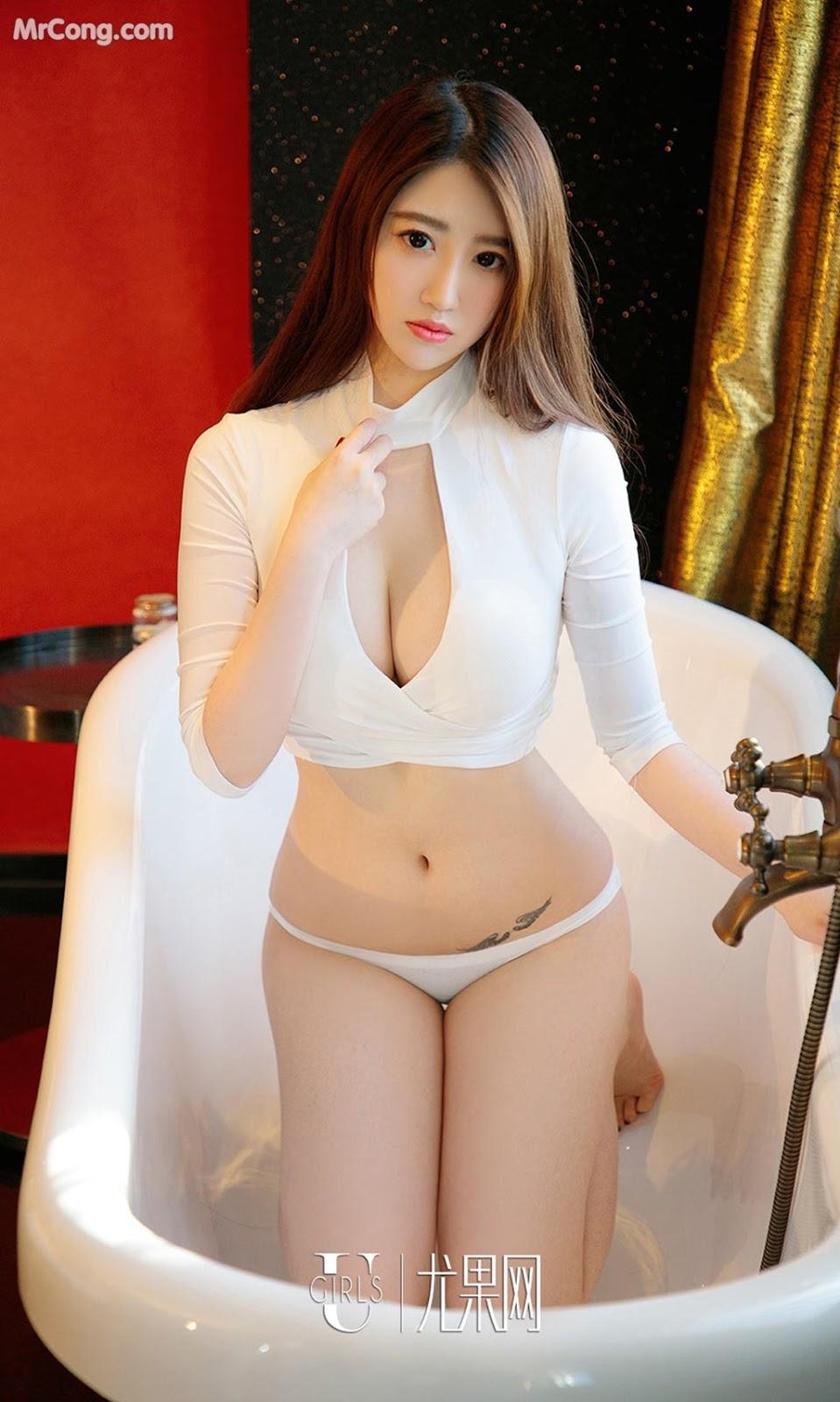 Image UGIRLS-Ai-You-Wu-App-No.964-Ai-Miao-MrCong.com-007 in post UGIRLS – Ai You Wu App No.964: Người mẫu Ai Miao (艾淼) (40 ảnh)