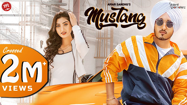 Mustang Song Lyrics  :  Mustang Is A Punjabi Song Which Is Sunged By Amar Sandhu. Mustang Song Lyrics Are Written By Babbu Khaspuri And Music Of This Song Is Produced By Mix Singh. The Music Video Of This Song is Directed By Sujal Ferozpuria.