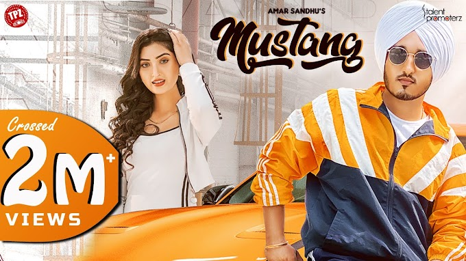 MUSTANG SONG LYRICS - AMAR SANDHU