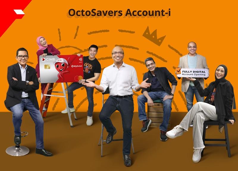 Membuka akaun OctoSavers-i CIMB Tanpa Perlu Ke Bank