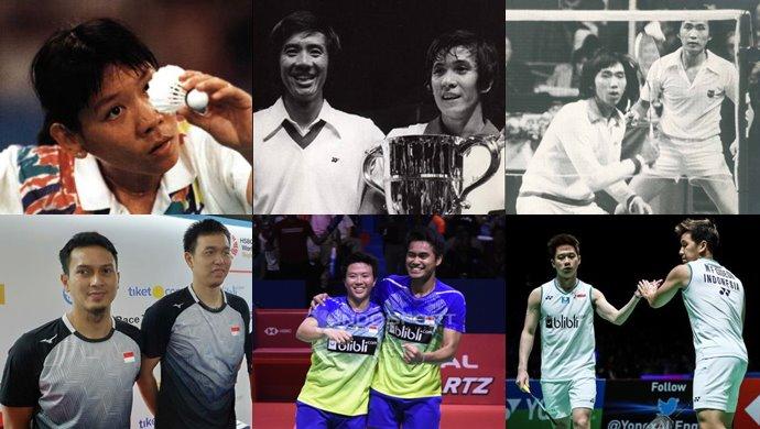 Daftar Pemain Bulu Tangkis Indonesia Juara All England Open