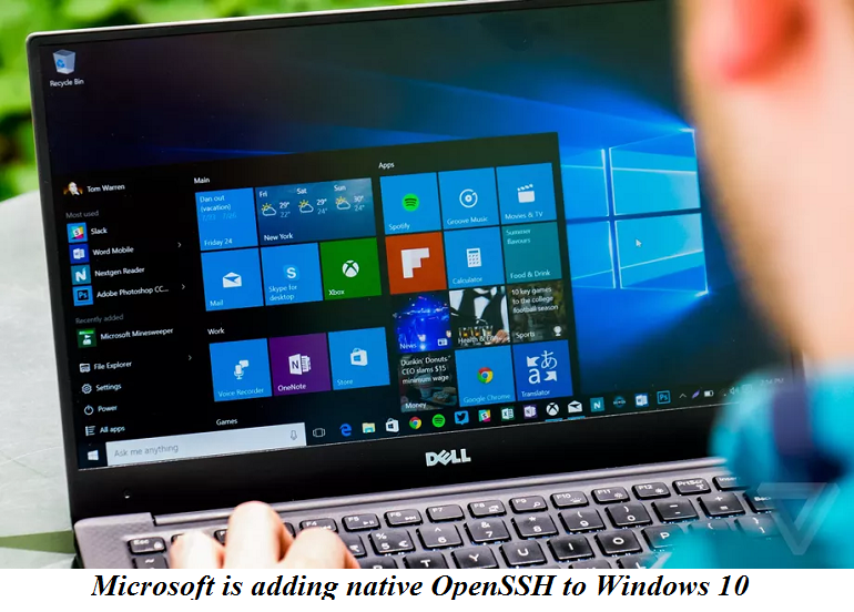 Microsoft is adding native OpenSSH to Windows 10