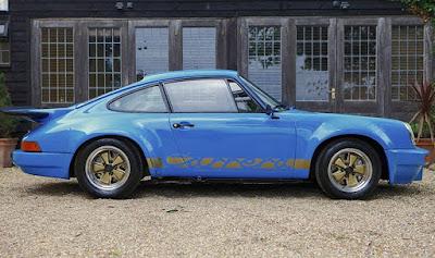 1974 Porsche 911 Carrera RS Lord Mexborough Side Left