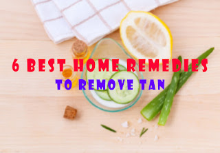 Top 7 Best and Simple Home Remedies To Cure Tan Permanently.