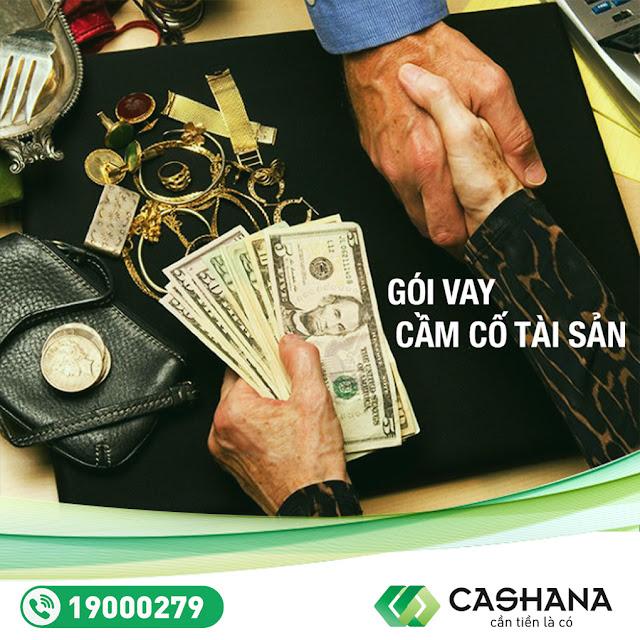 Thủ tục vay tiền đơn giản tại Cashana