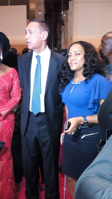 Sen Ben Murray Bruce Spotted With Murtala Mohammed's Daughter In Lagos (See Photos)