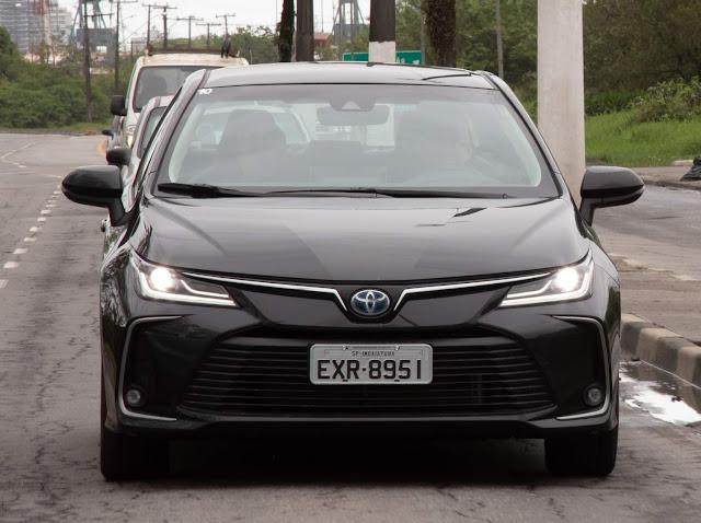 Toyota Corolla 2020 Hybrid - Premium - Preto