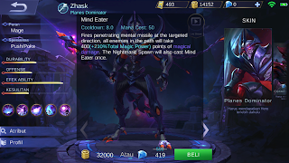 skill hero zhask mobile legends