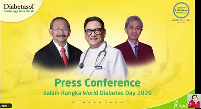 Manfaat olahraga bagi diabetes bersama Diabetasol