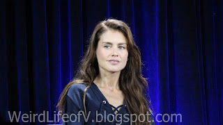 Hannah Ware - Hitman 47 panel at Nerd HQ - Outside  San Diego Comic Con 2015