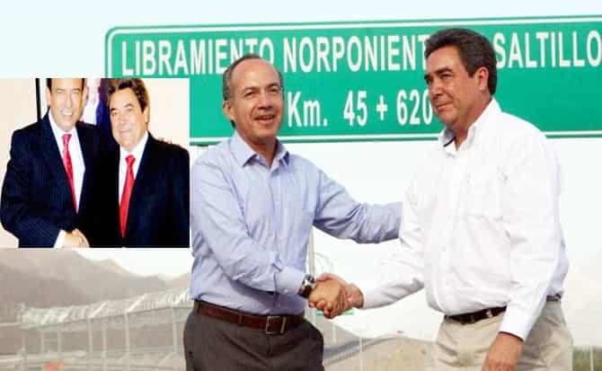 Felipe Calderón, Moreira, PRI, PAN