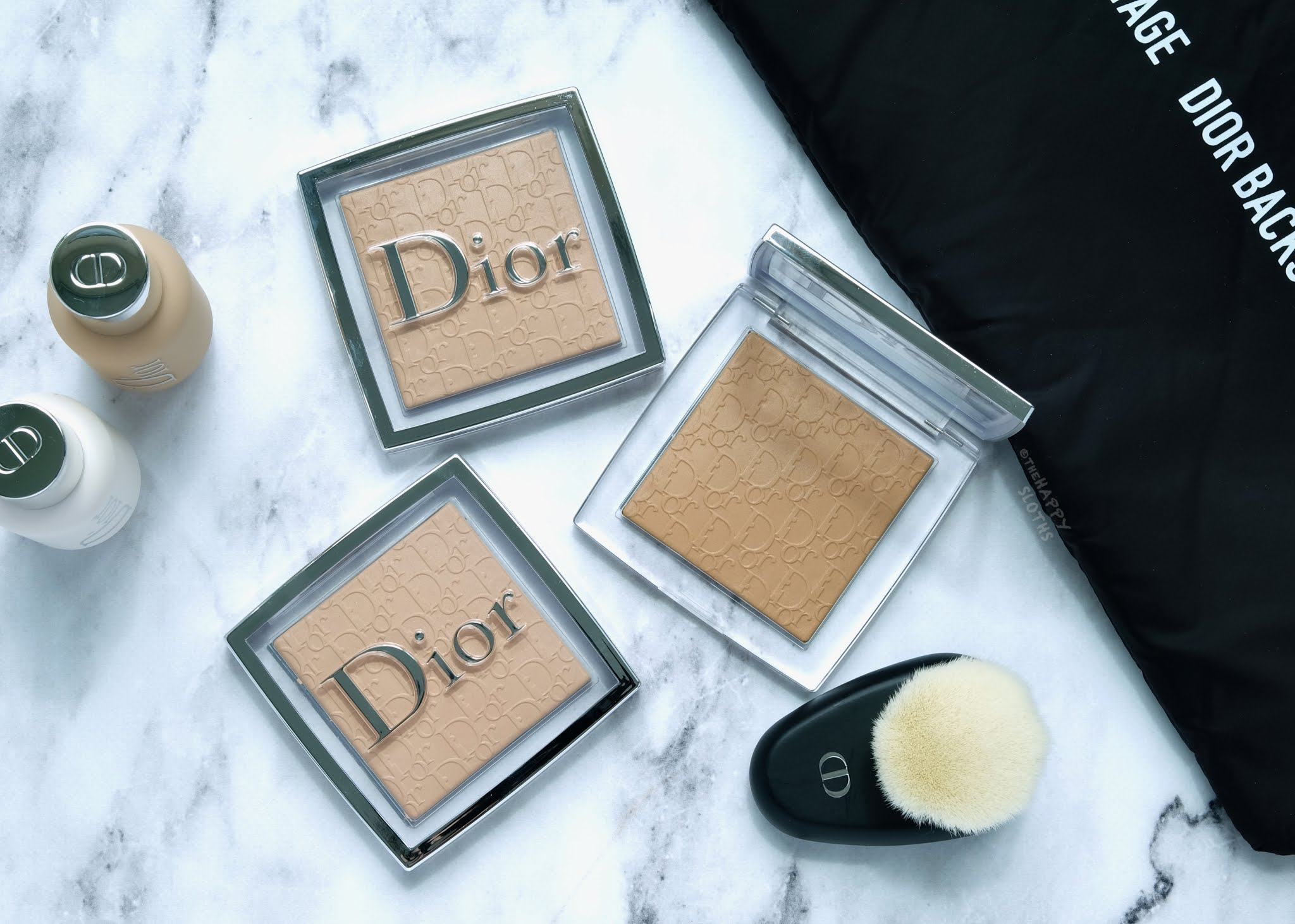 Dior | Backstage Face & Body Powder-No-Powder Perfecting Translucent Powder: Review and Swatches