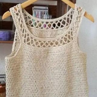 Blusa Moderna a Crochet