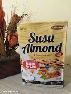 review booster ASI Susu Almond