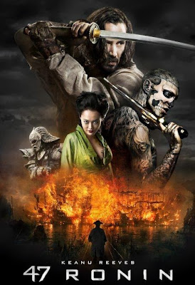 Poster Of 47 Ronin (2013) In Hindi English Dual Audio 300MB Compressed Small Size Pc Movie Free Download Only At worldfree4u.com