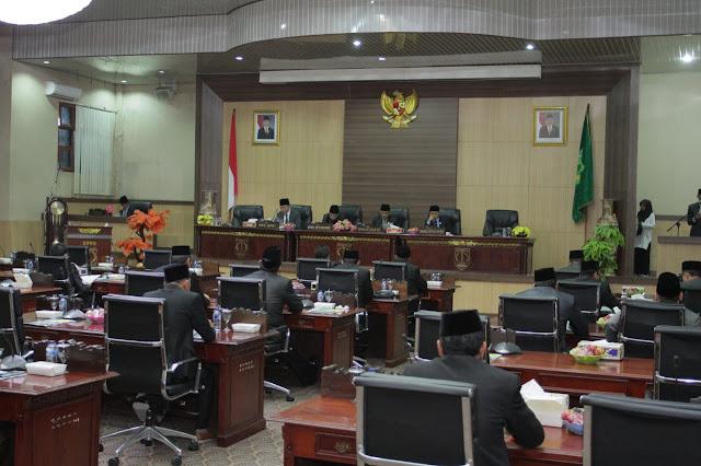 Terima Rekomendasi DPRD Terhadap LKPJ TA 2018, Eksekutif Segera Tindaklanjuti