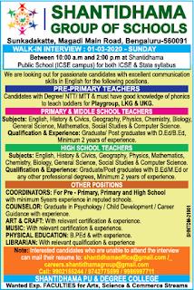 Shantidhama Group Of Schools