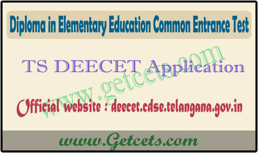 TS DEECET Application date 2021-2022, how to apply online for dietcet