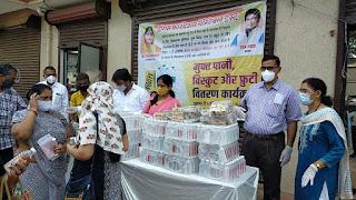 दहिसर टीकाकरण केंद्र पर संस्था की सराहनीय पहल  | #NayaSaberaNetwork