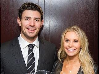 Canadiens Goalie Carey Price C Left C With His Wife Angela
