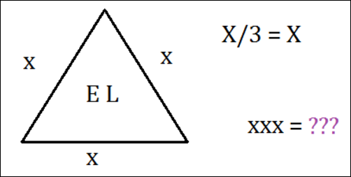 Complex Cryptic Triangle Puzzle