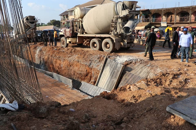 Governor Umahi Inspects Ongoing Dualization Of Abakaliki-Enugu Road (Photos)