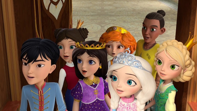 """Little Tiaras"" Became the First Animated Series From Russia With Main Characters Presenting Racial Diversity"