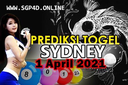 Prediksi Togel Sydney 1 April 2021