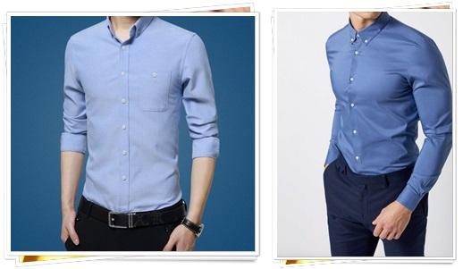erkek-mavi-renk-gomlek-modelleri