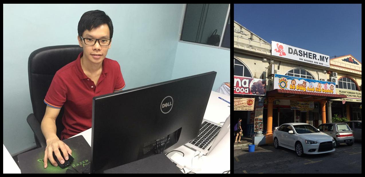 Co-founder of Dasher - Wei Kheng