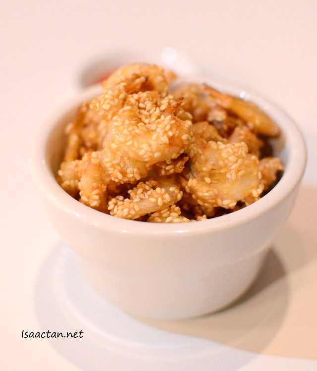 Fried Prawns with Sesame - RM8