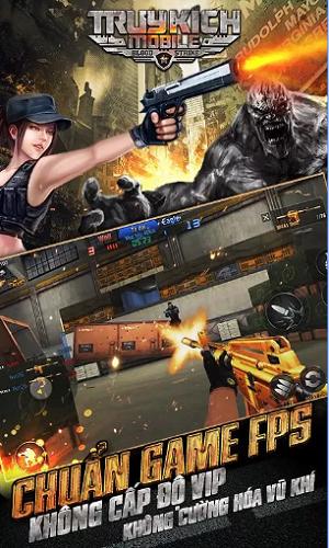Chơi Game Truy Kích Trung Quốc 4399 bản đẹp, Full Vàng, Tải Truy Kích Mobile  i