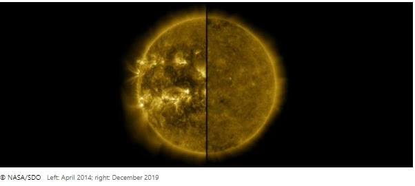 NASA has confirmed that we have officially introduced a new solar cycle