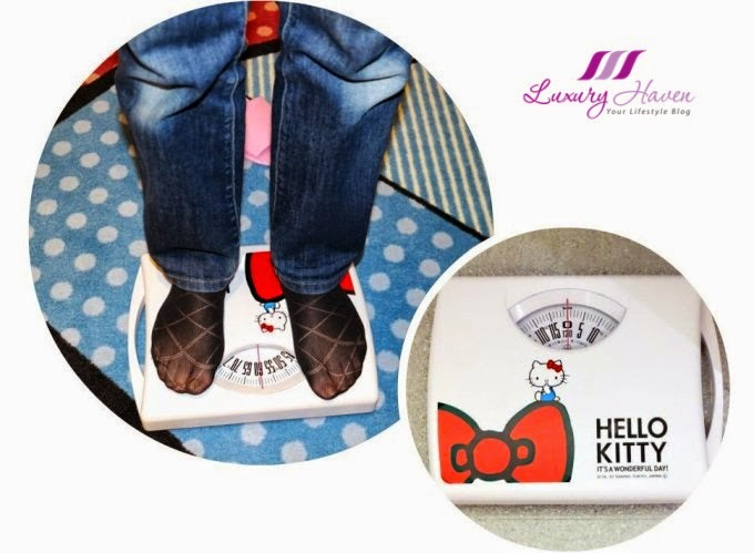 keio plaza hello kitty bathroom digital weighing scale