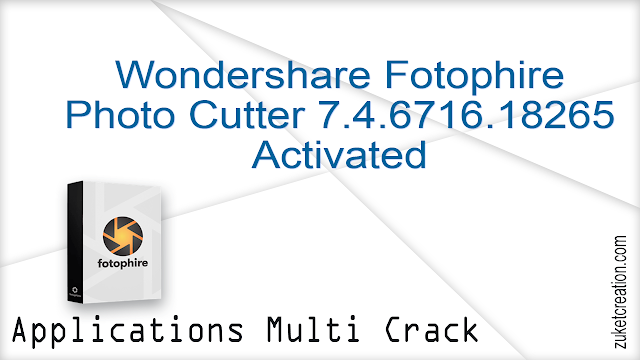 Wondershare Fotophire Photo Cutter 7.4.6716.18265 Activated
