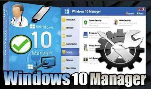 تحميل برنامج Windows 10 Manager 3.4.5 Portable نسخة محمولة مفعلة اخر اصدار