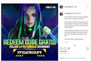 Redeem Code FF Terbaru, Hello World!