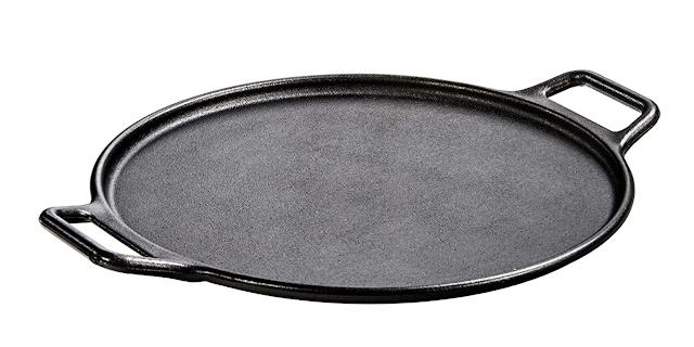 Lodge Cast Iron Pan, 14 Inches, Black, 1 Piece