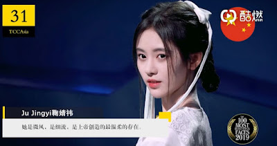 Ji Jingyi SNh48 former - The 100 Most Beautiful Asia Faces of 2019