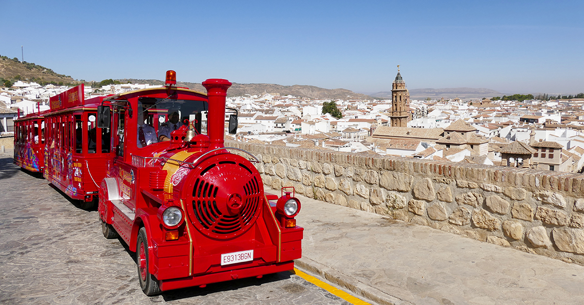 tren turistico city sightseeing antequera